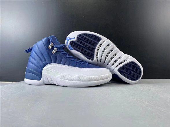 Jordan 12 Retro Stone Blue