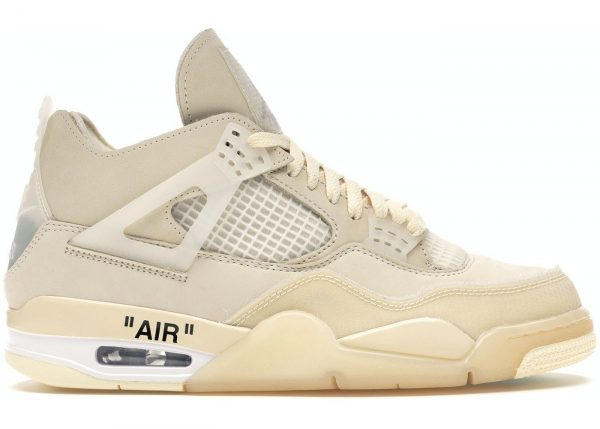 "Air Jordan 4 * OFF WHITE ""Sail"""