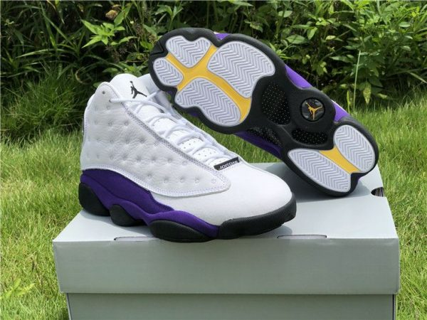Jordan 13 Retro Lakers