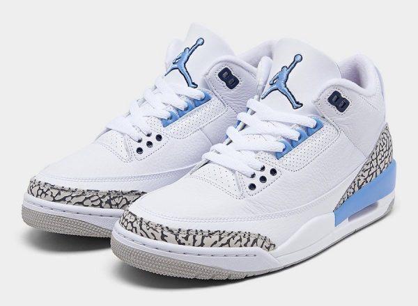 Jordan 3 Retro UNC (2020)