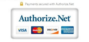 Payments at Solez4Real are secured with SSL encryption and Authorize.Net