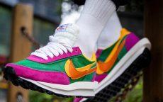 Nike LD Waffle Sacai Green Pink